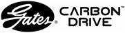 Gates Carbon Drive – Zweizeiliges Logo horizontal V2
