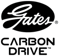Gates Carbon Drive Double Stack Logo