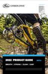 产品指南封面 盖茨碳纤维驱动系统