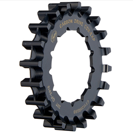 CDX:EXP后齿盘,适用于自行车的Rohloff花鼓盖茨碳纤维皮带驱动系统